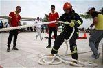 ورزش آتش نشانان ضرورتی برای نجات جان انسانها