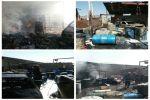 آتش سوزی در کارگاه تینر و الکل
